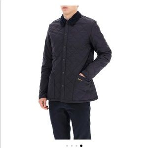 Barbour heritage linsdale quilted jacket, navy